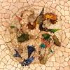 Ceiling mozaic - octopus