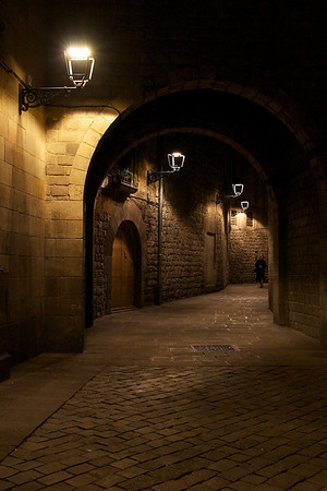 The gothic quarter - Placa de Felipe Neri