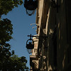 The cast iron lamps in Barcelona were varied and fantastic.