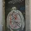 I never saw shorter Hamsterloco, but this is my favorite grafitti in Barcelona.