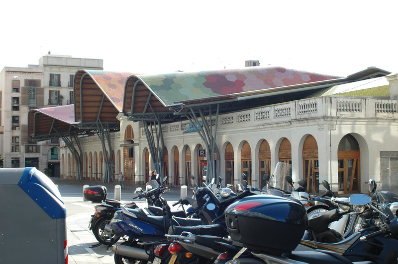 This was a renovated market building. We had an excellent dinner in a restaurant inside.