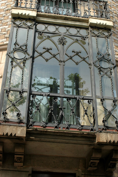 Barcelona has a lot of great ironwork.
