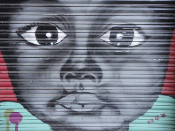 Graffiti in Barcenoleta
