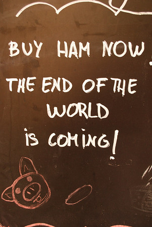 Don't miss the ham!