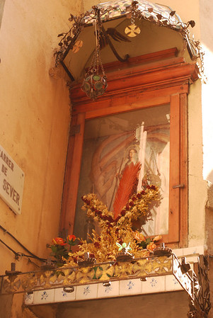 Shrine to Santa Eulalia - patron saint of Madrid