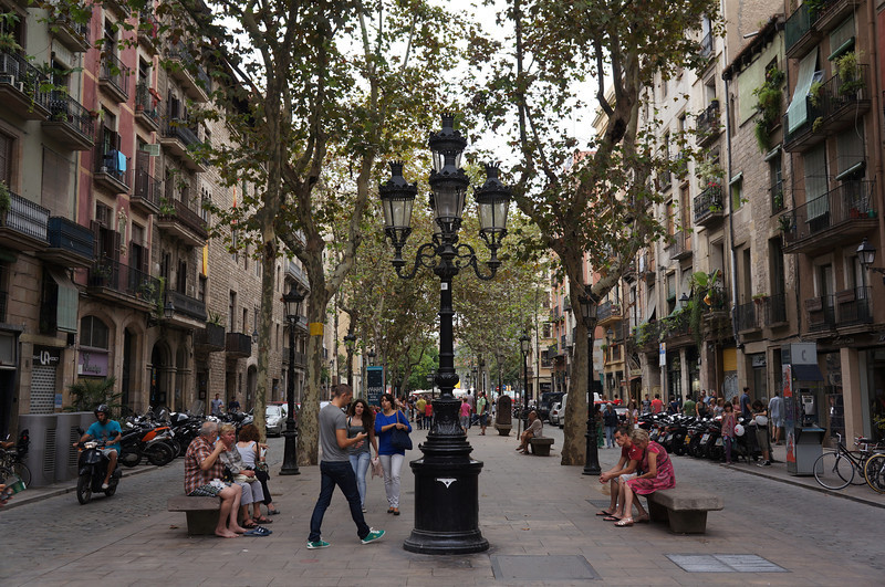 Barcelona street.