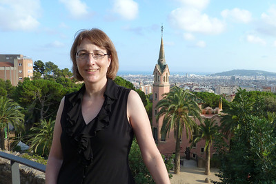 Karen at Parc Guell.