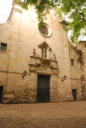 Placa de Sant Felip Neri
