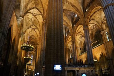 Basilica of Barcelona.