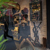 Store window reflection
