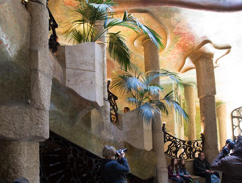 Gaudi's La Pedrera or Casa Milá-7