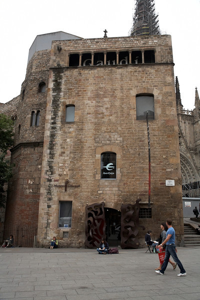 Museo Diocesa de Barcelona. This is a small museum adjacent to the cathedral.