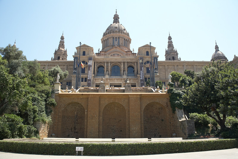 Museu Nacional d'Art de Catalunya or MNAC as it's often abbreviated.