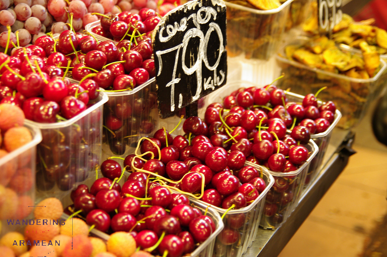 So much beautiful fresh fruit