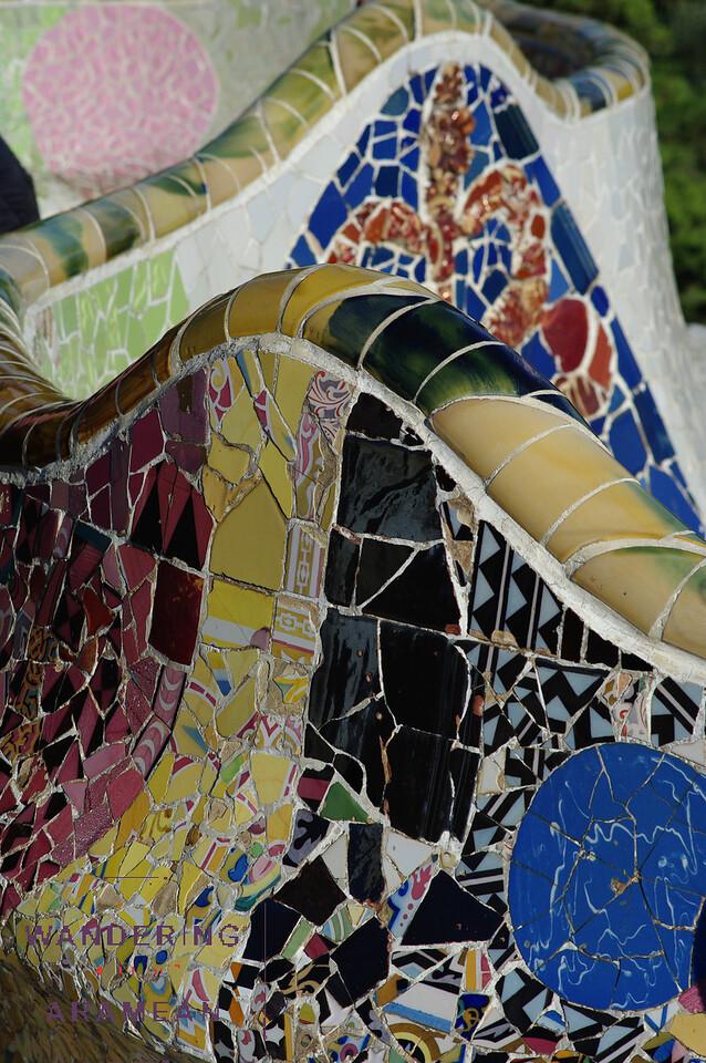 Incredibly colorful mosaics
