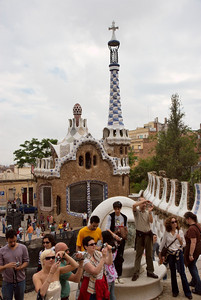 Gaudi's Parc Guell, Barcelona
