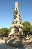 Statue near Arc de Triomf.