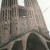 Sagrada Familia (Holy Family Church) in Barcelona, Spain.