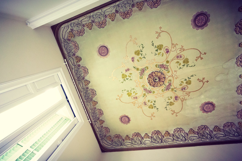 Ceiling with history