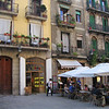 Cafe in a Barcelona plaza