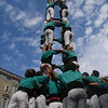 On the third day of La Mercè, the castellers, or human castle-builders, perform in Plaça Sant Jaume. Building castells, or castles, has been a Catalan tradition since the late 18th century; today many castles extend nine or 10 levels high.