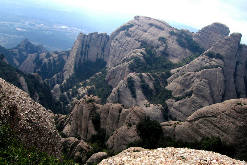 West of Barcelona, the sandstone hills of Montserrat offer day hikes.