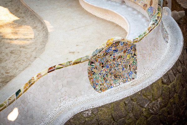 Ceramic beauty in Park Guell