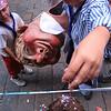 All weekend long, confetti plays a big role in the La Mercè festival.