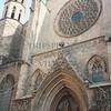 Santa Maria Del Mar Church in Barcelona, Spain.