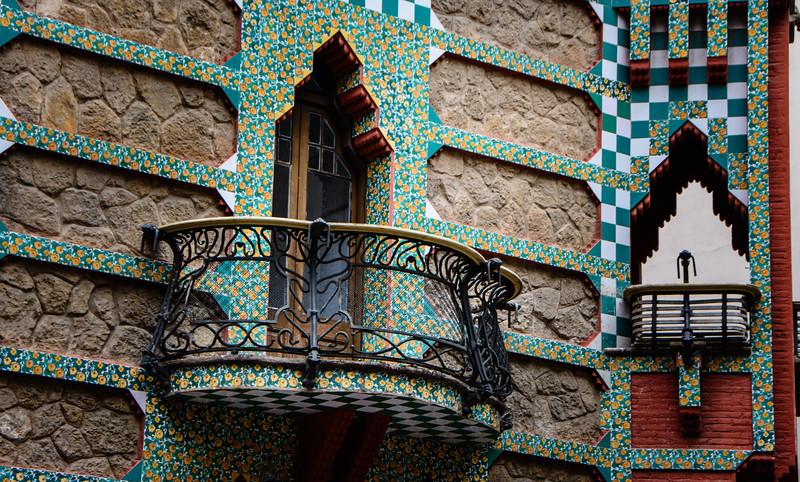 Casa Vicens - Gaudi - Barcelona