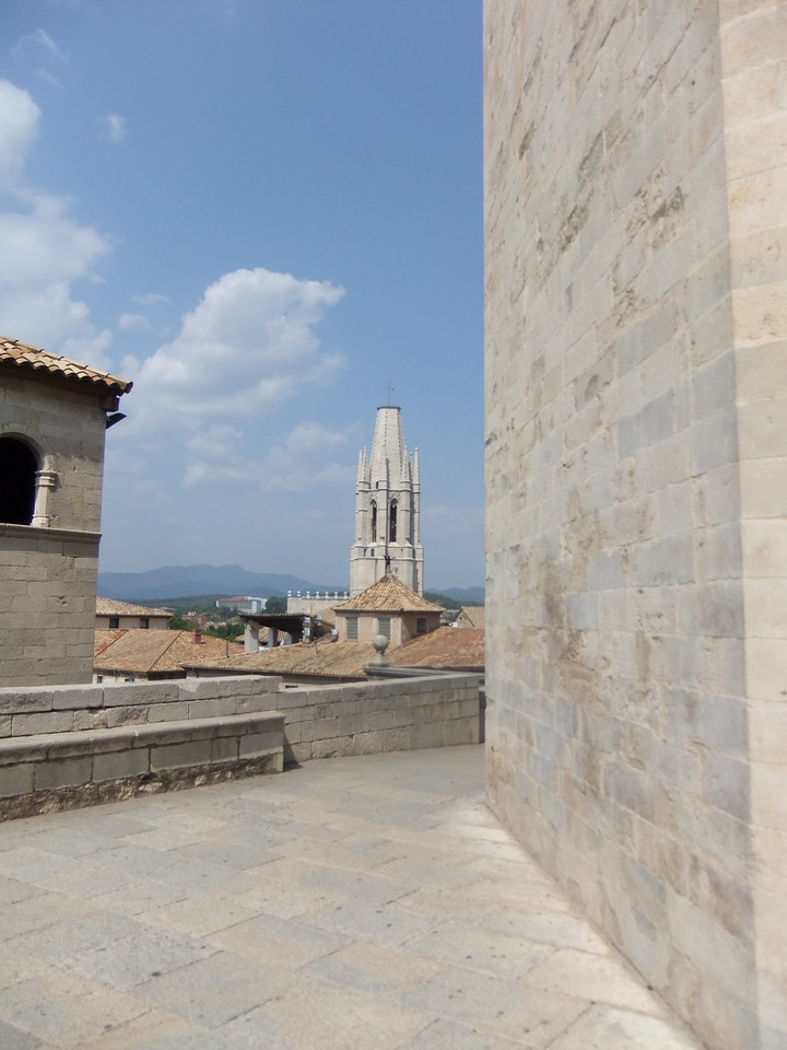 View from Girona cathedral
