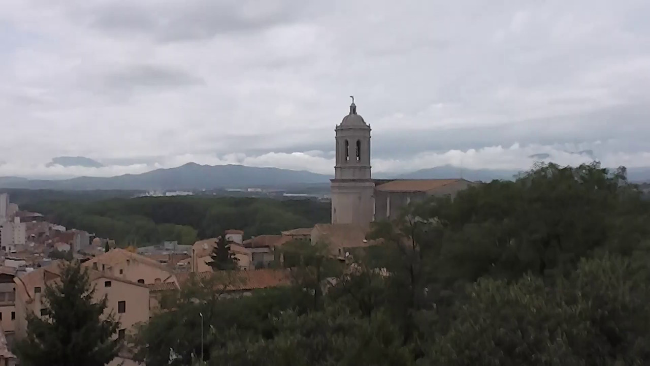 View from top in Girona
