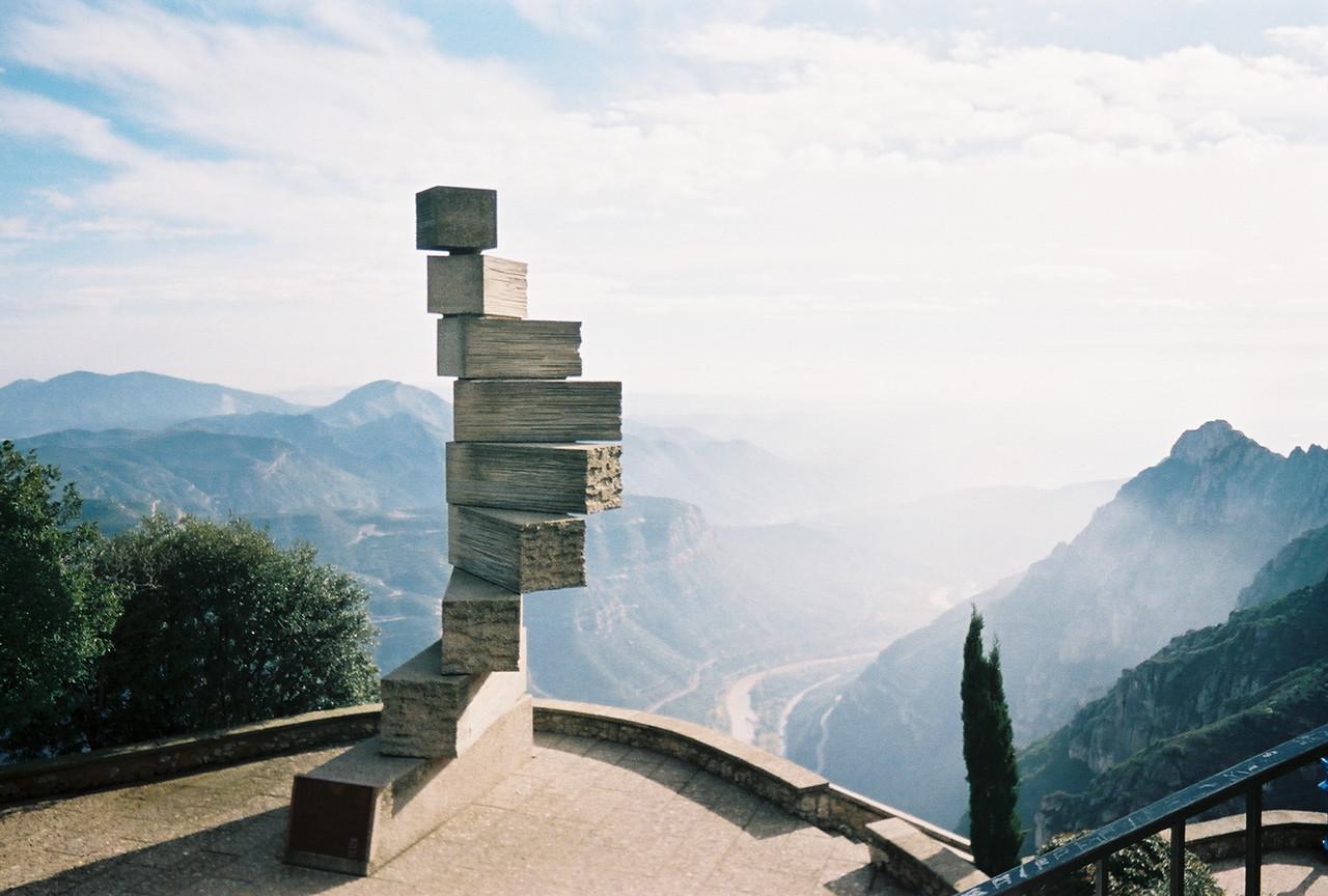 View on top of Monteserrat