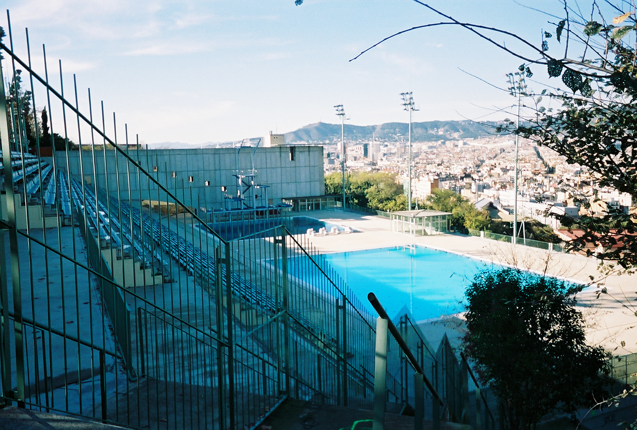View from Olympic swimming pool