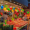 Fruit Store at La Boqueria Food Market