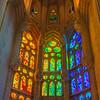 Stained Glass Windows - La Sagrada Familia