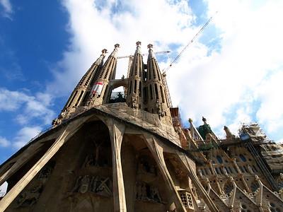 Sagrada Familia in Color