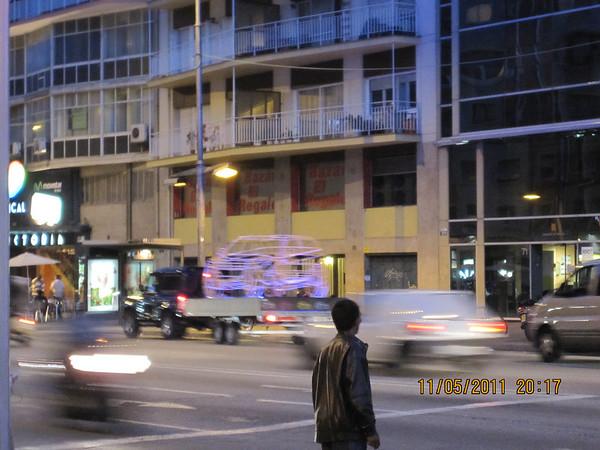 Spøkelsebil...foto: Kathrine