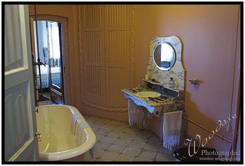 Inside the massive display luxury apartment in the Gaudi house.