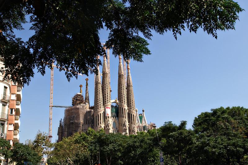 Sagrada Familia from Afar