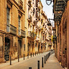 Gothic Quarter, Barcelona<br /> The Gothic Quarter is the centre of the old city of Barcelona. It stretches from La Rambla to Via Laietana, and from the Mediterranean seafront to Ronda de Sant Pere. It is a part of Ciutat Vella district