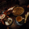 Phenomenal Turkish vegetarian tea house. Perfect.