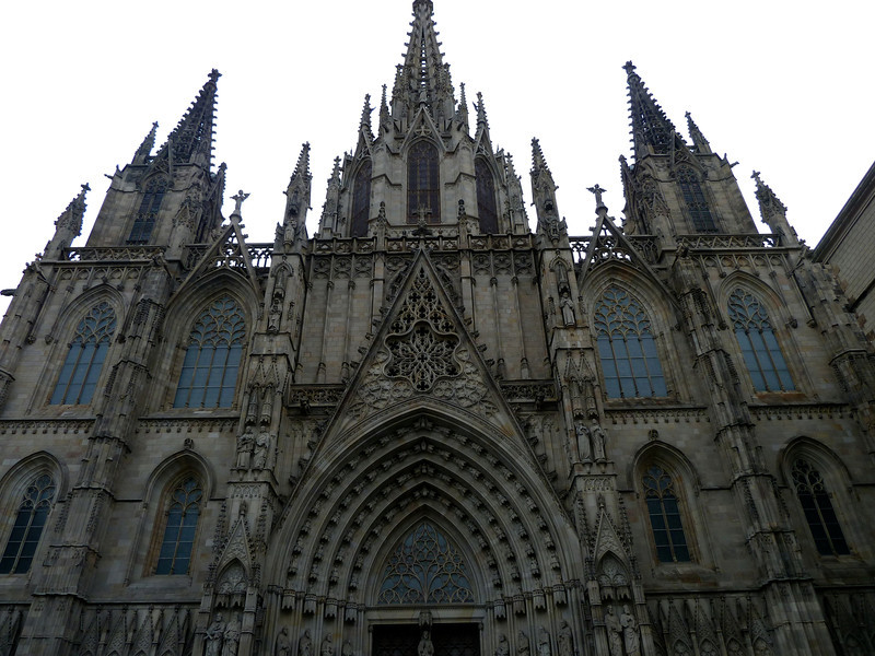 Barcelona's main Catherdral.