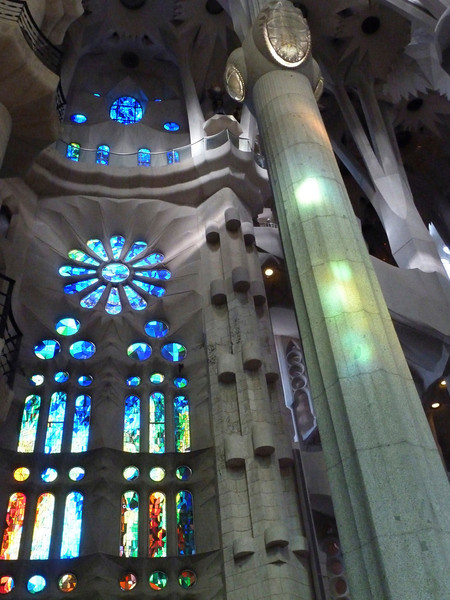 The next set of pictures are from Gaudi's (in)famous Sagrada Familia.