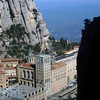 The monastery at Montserrat. Precarious.