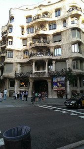 Another Gaudí building.