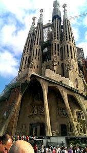 Gaudí's Sagrada Familia.