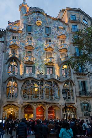 Casa Batllo, Barcelone