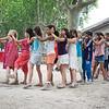 Kids are having fun in Barjac