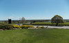 The view from Grant Burge looking over the winelands is a delight while enjoying some of Barossa's fine cuisine